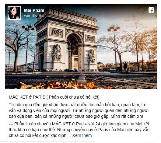 Bộ Ngoại giao thông tin chính thức vụ công dân Việt Nam 'mắc kẹt' ở Paris