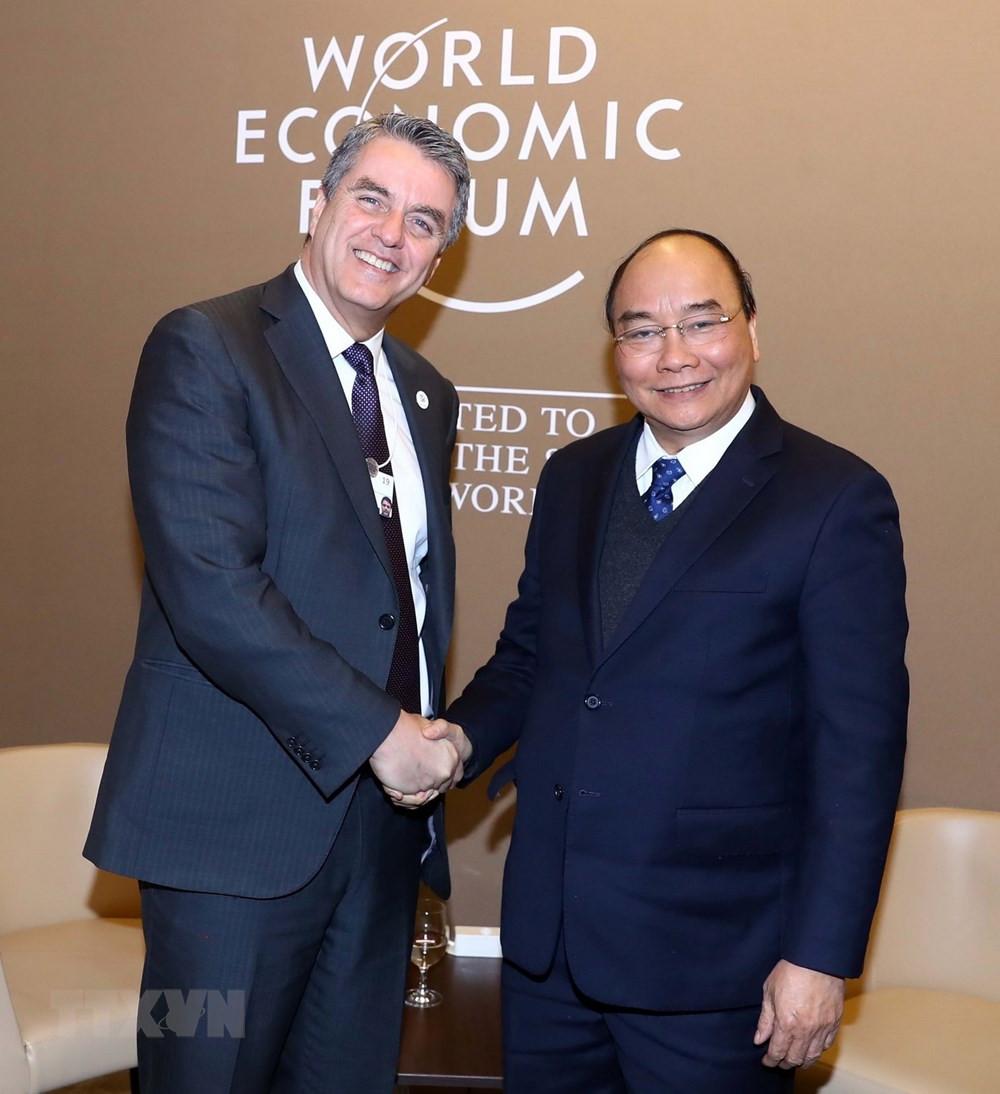 Những hoạt động đầu tiên của Thủ tướng tại Hội nghị WEF Davos 2019