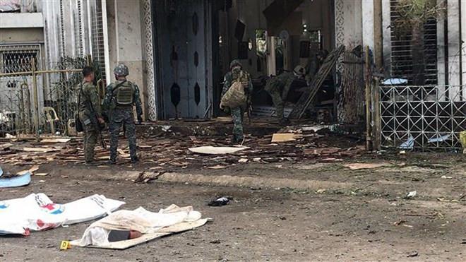 Việt Nam lên án mạnh mẽ vụ tấn công khủng bố nhà thờ Công giáo tại đảo Jolo của Philippines