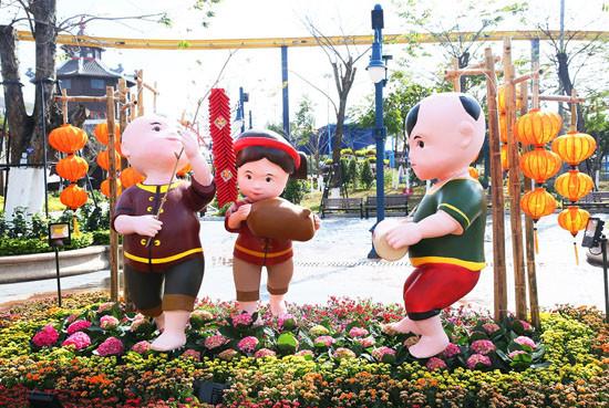 Lễ hội hoa xuân Sun World Halong Complex: Điểm hẹn hấp dẫn thu hút du khách dịp Tết