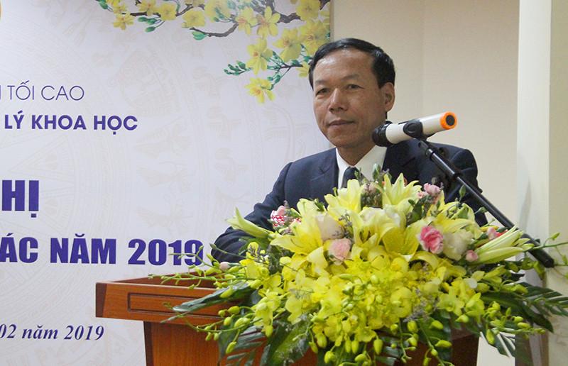 Vụ Pháp chế và Quản lý khoa học TANDTC: Quyết tâm hoàn thành xuất sắc nhiệm vụ năm 2019