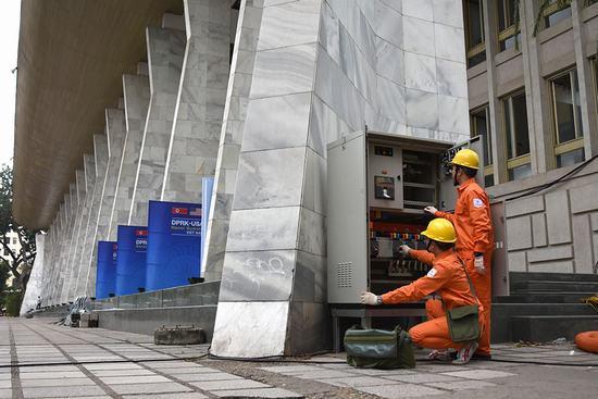 Đảm bảo cung ứng điện an toàn tuyệt đối phục vụ Hội nghị thượng đỉnh Mỹ-Triều lần 2