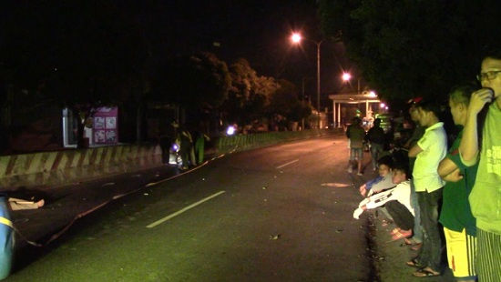 Mất lái tông vào dải phân cách, người đàn ông tử vong tại chỗ