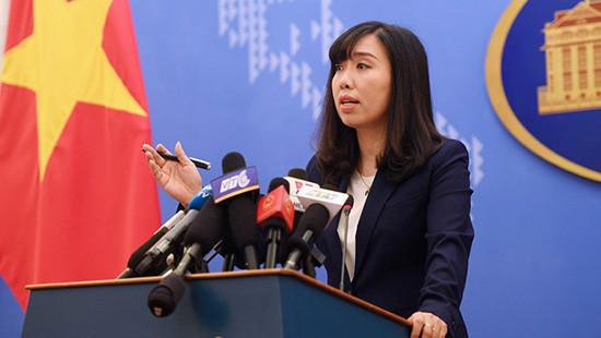 Yêu cầu Đài Loan dừng hành động xâm phạm chủ quyền lãnh thổ của Việt Nam