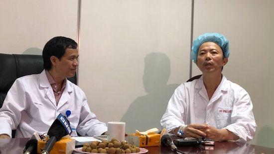 Lần đầu tiên bác sĩ Việt Nam