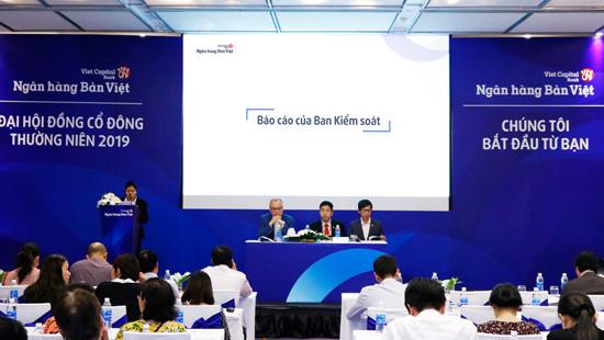 ĐHĐCĐ NH Bản Việt 2019: Công bố kế hoạch 2019 với lợi nhuận trước thếu dự kiến tăng hơn 76% so với 2018