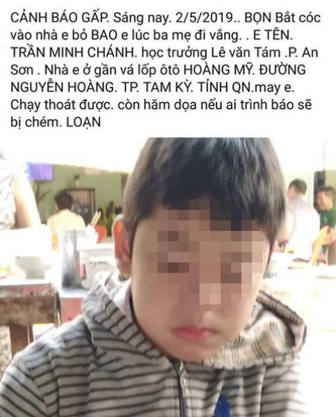 Bác thông tin bắt cóc trẻ em gây xôn xao ở Quảng Nam