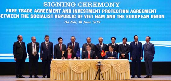 Hiệp định EVFTA và IPA chính thức được ký kết