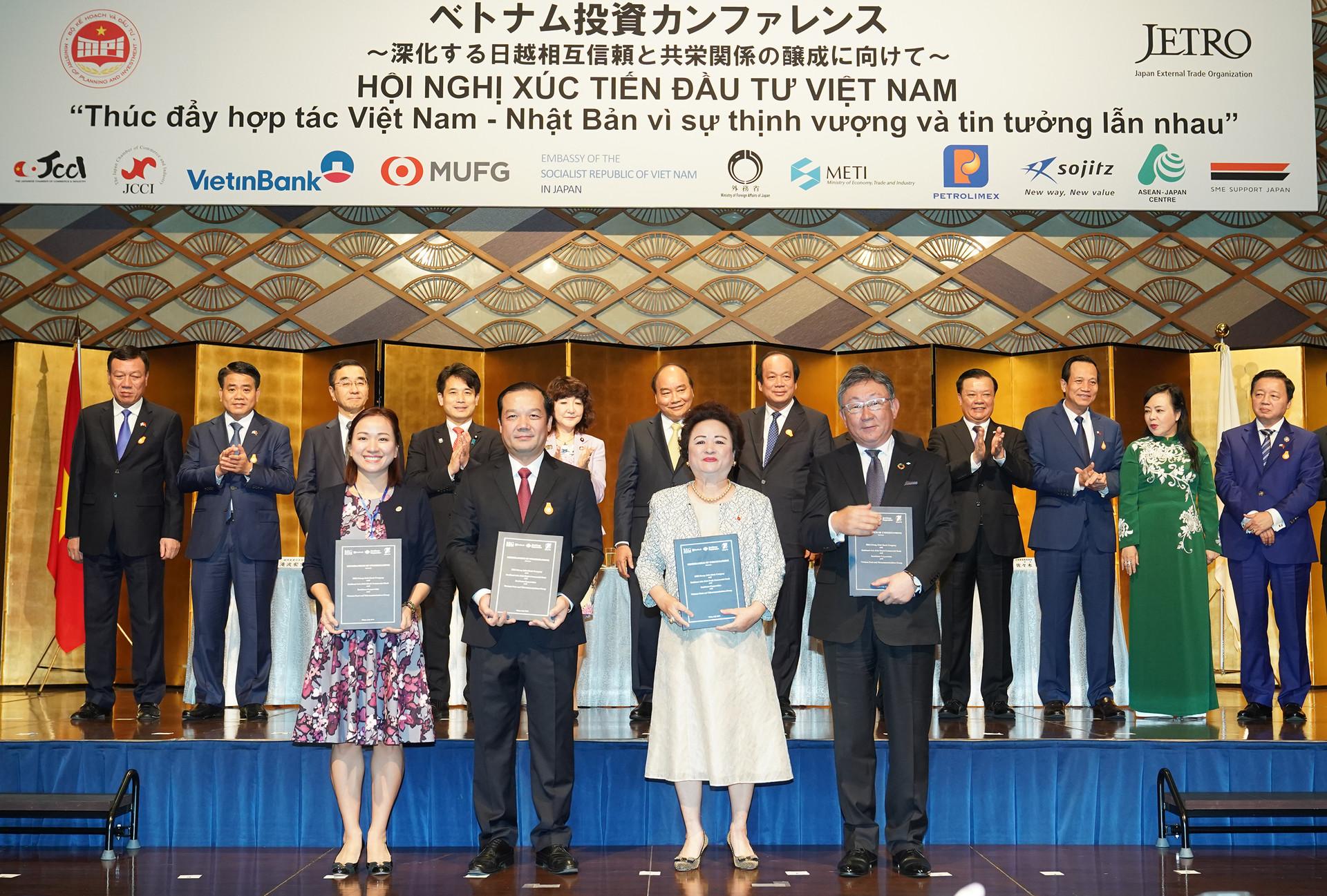 Tập đoàn BRG, Tập đoàn VNPT, Tập đoàn Sumitomo và Ngân hàng SeABank trao Thỏa thuận hợp tác trong lĩnh vực Fintech, phát triển Thành phố thông minh và các dự án khác