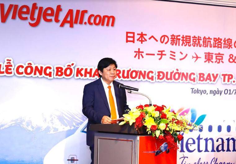 Lễ công bố đường bay mới và đón chứng nhận thành viên Liên đoàn kinh tế Nhật của Vietjet