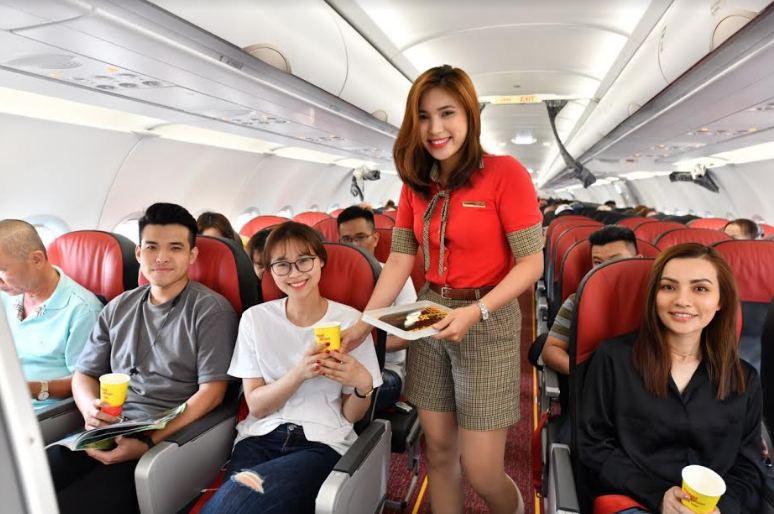 Mở mạng bay rộng khắp, Vietjet tuyển dụng tiếp viên quy mô lớn tại Hà Nội