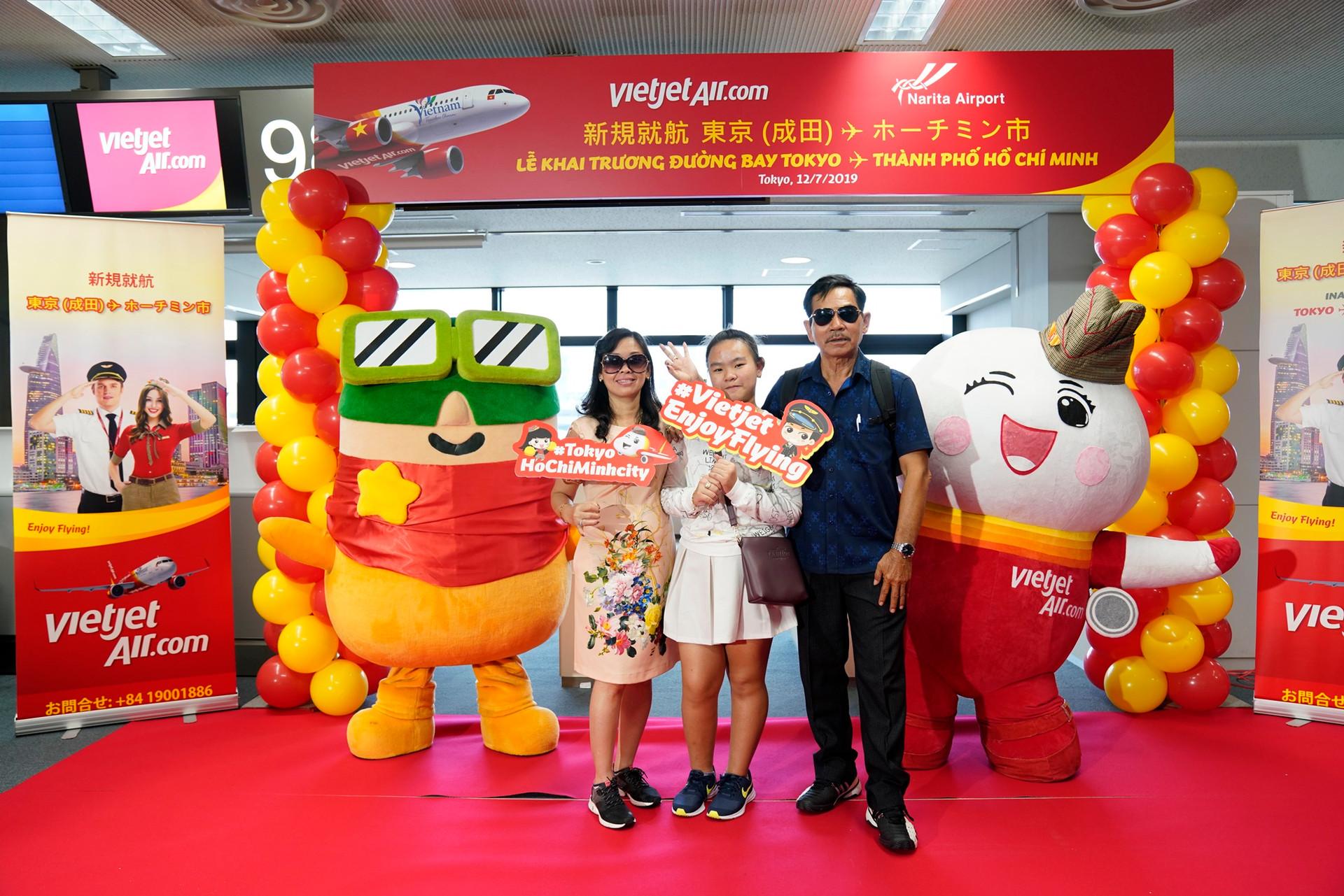 Liên tục mở đường bay đến Nhật Bản, Vietjet kết nối Tp.HCM với Tokyo