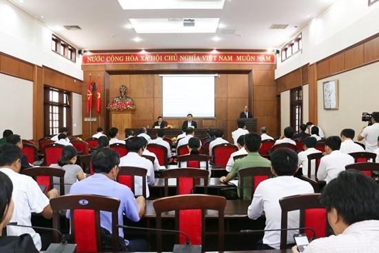 Hội nghị sơ kết Quy chế phối hợp công tác giữa TAND với UBND tỉnh Đắk Nông