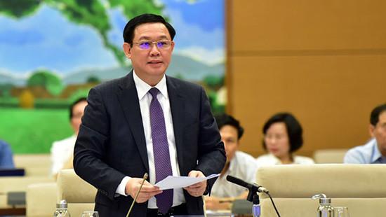 Phó Thủ tướng Vương Đình Huệ giải trình 3 vấn đề nóng đại biểu Quốc hội nêu