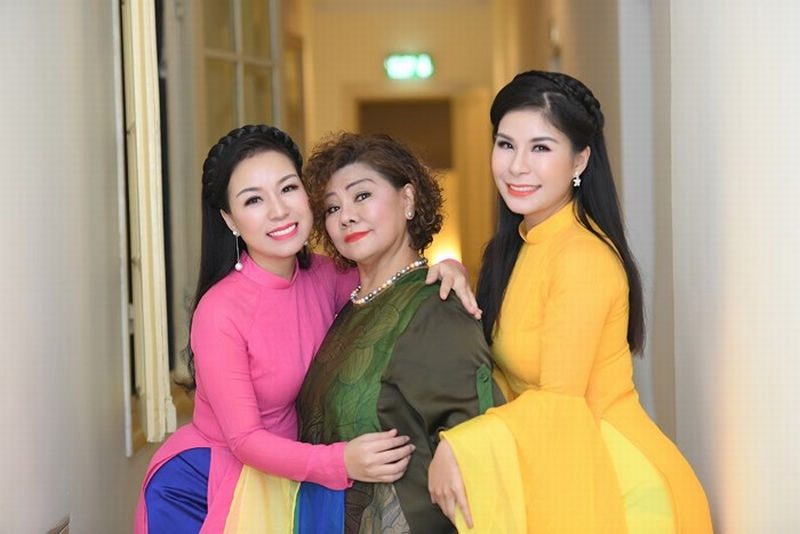 NSND Thanh Hoa chia sẻ về cặp chị em