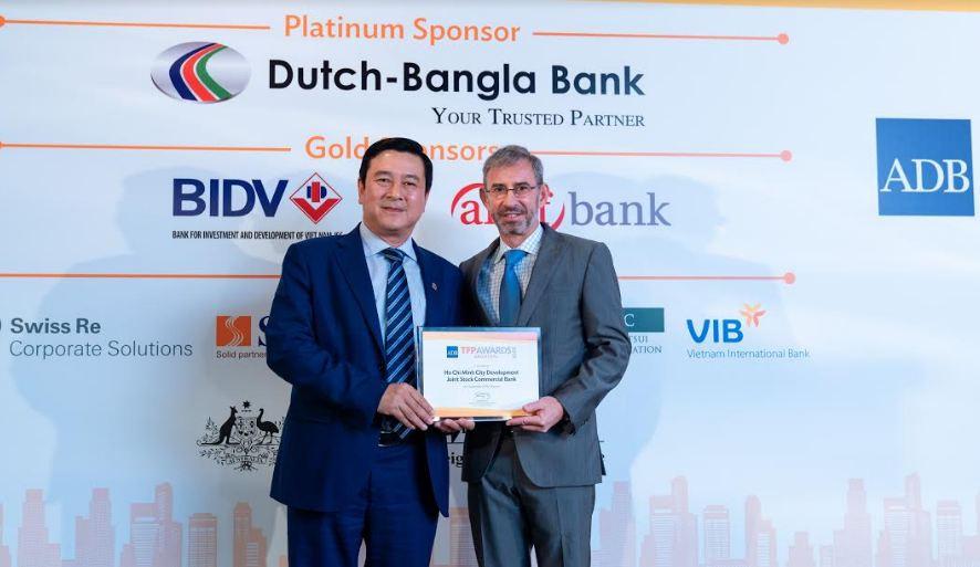 """HDBank – Ngân hàng đầu tiên tại Việt Nam nhận giải """"Green Deal Award"""