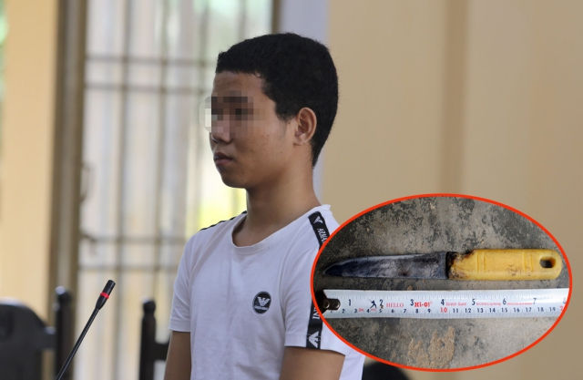 Thiếu niên đâm cụ bà, cướp hơn 500 ngàn đồng lĩnh 13 năm tù