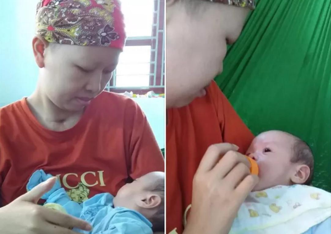 Cuộc sống của bé Bình An và mẹ ung thư vú giai đoạn cuối sau 2 tháng xuất viện