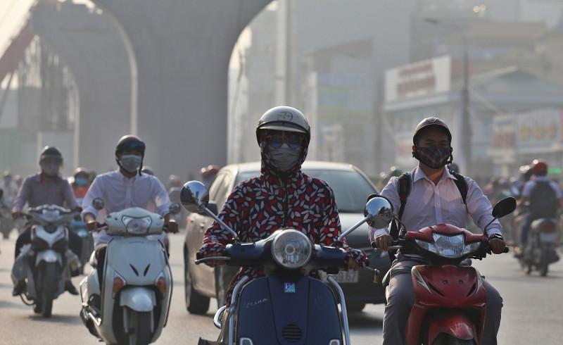Báo động chất lượng không khí ở đô thị lớn