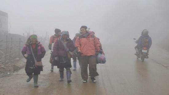 Đêm nay, không khí lạnh ảnh hưởng đến vùng núi Bắc Bộ