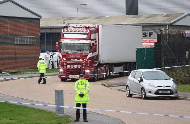 Cảnh sát Anh truy tố tài xế xe tải vụ 39 người chết ở Essex