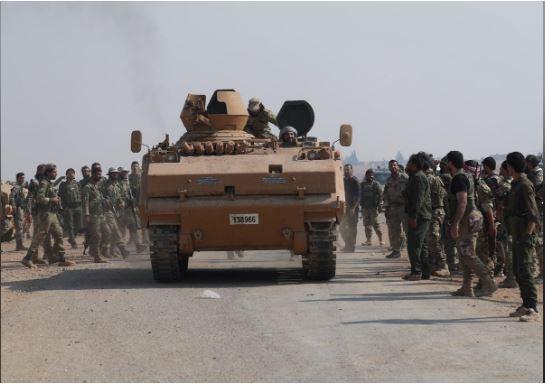 """Tổng thống Erdogan: """"Thổ Nhĩ Kỳ sẽ dọn sạch khu vực biên giới Syria nếu Nga không hành động"""""""