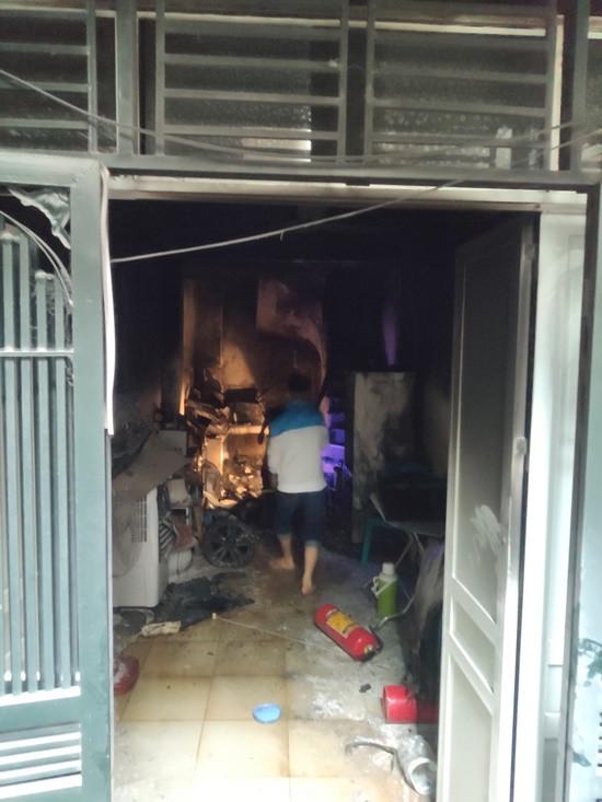 2 cụ già thoát hiểm an toàn trong vụ cháy nhà dân
