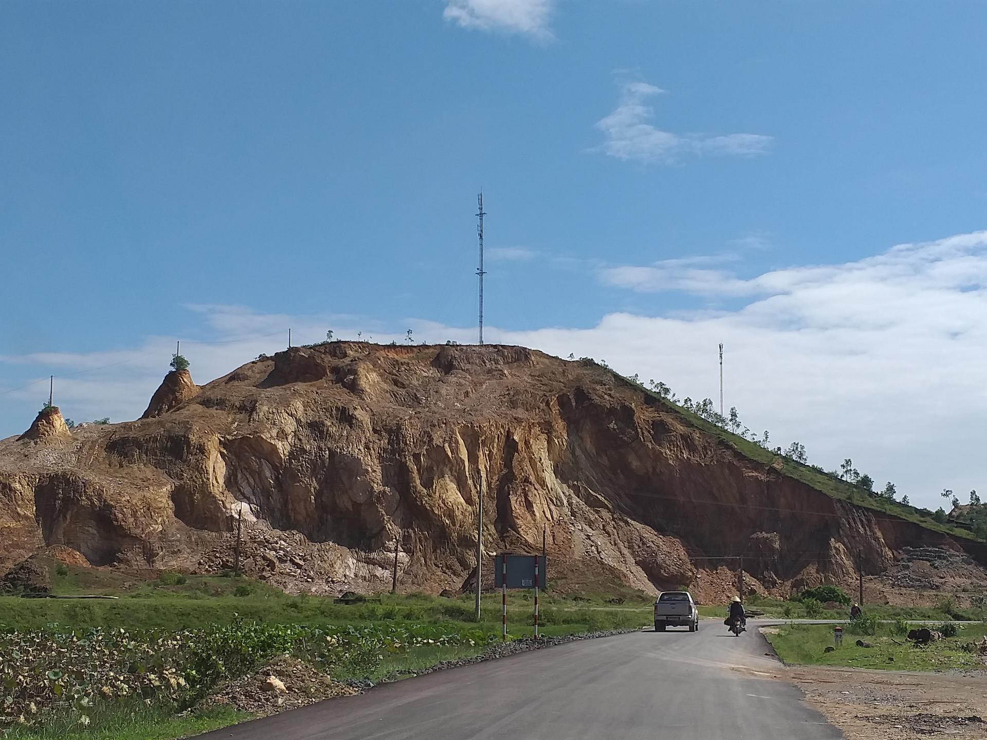 Huyện Nam Đàn, Nghệ An: Doanh nghiệp chậm hoàn nguyên sau khai thác khoáng sản