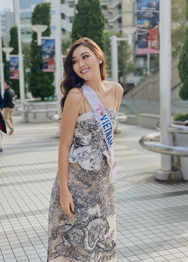 Tường San và tin đồn giành ngôi Á hậu Miss International 2019
