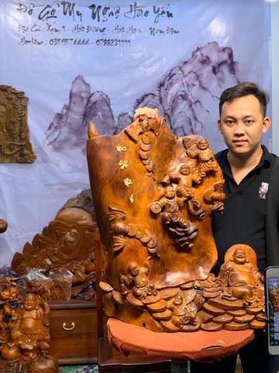 Mỹ nghệ Hào Yến thổi hồn vào những món đồ gỗ mỹ nghệ tinh xảo