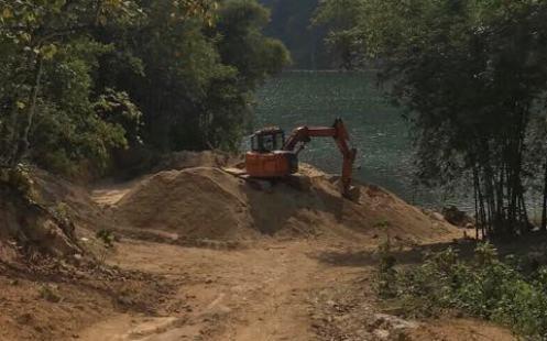 Thanh Hóa: Tái diễn việc khai thác, tập kết cát trái phép