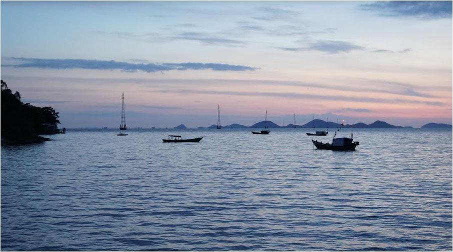 Gắn biển hoàn thành Công trình cấp điện lưới Quốc gia ra xã đảo Tiên Hải, Kiên Giang