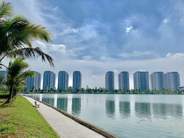 Không khí giáng sinh tràn ngập khu đô thị Thanh Hà