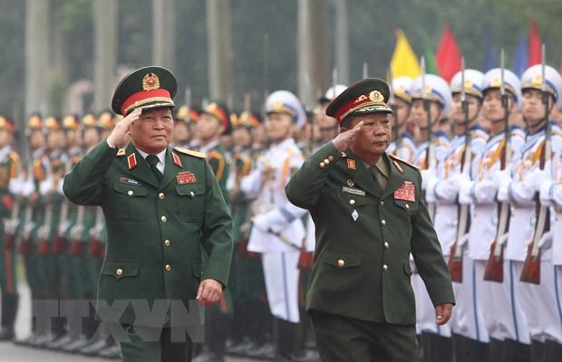 Tăng cường hợp tác toàn diện Quân đội ba nước Việt Nam-Lào-Campuchia