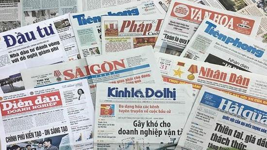 Hà Nội dừng hoạt động 6 tạp chí, 3 báo, sáp nhập 1 báo