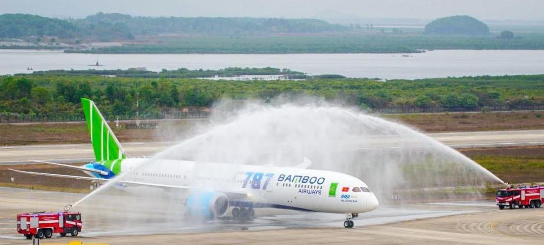"""Hành trình nửa vòng trái đất về với Bamboo Airways của máy bay thân rộng Boeing 787-9 Dreamliner """"Ha Long Bay"""""""