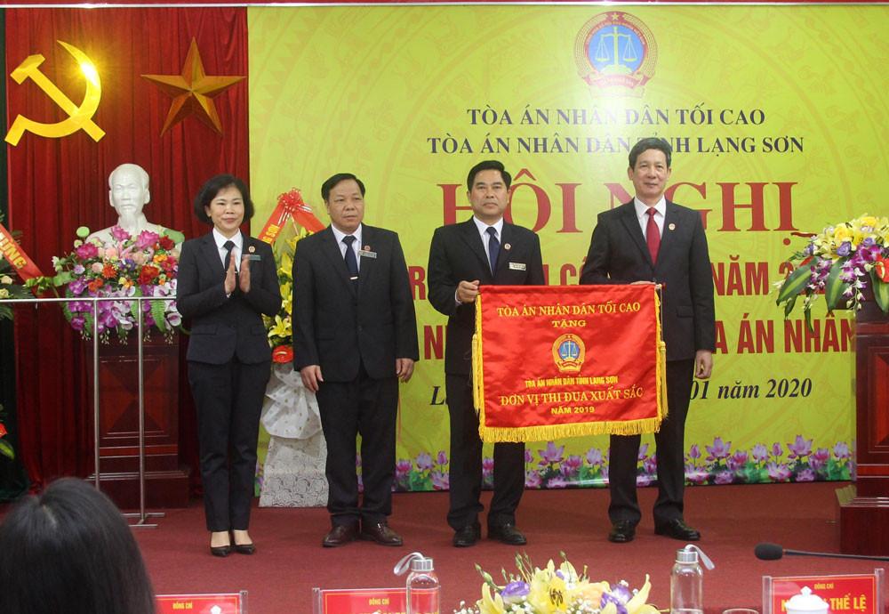 TAND hai cấp tỉnh Lạng Sơn tổ chức Hội nghị triển khai công tác năm 2020
