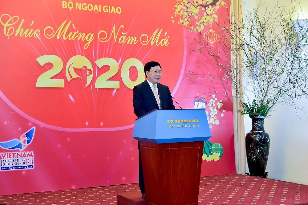 Bộ Ngoại giao gặp mặt các cơ quan báo chí nhân dịp năm mới 2020
