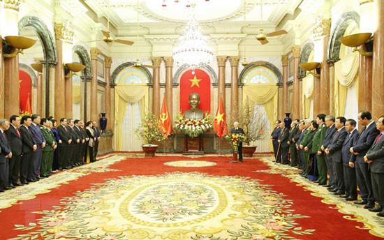 Tổng Bí thư, Chủ tịch nước: Cần làm tốt hơn nữa công tác cán bộ