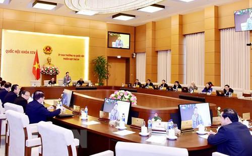 Ủy ban Thường vụ Quốc hội ban hành các Nghị quyết về công tác nhân sự một số tỉnh