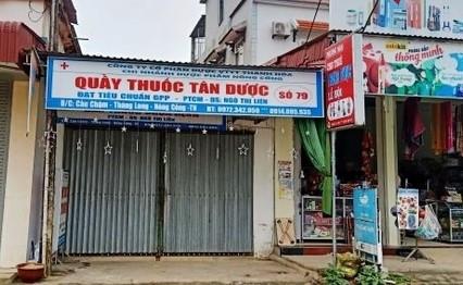 Kinh doanh trục lợi, 4 nhà thuốc bị rút giấy phép