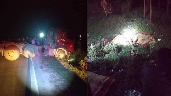 3 người trong một gia đình tử vong sau tai nạn