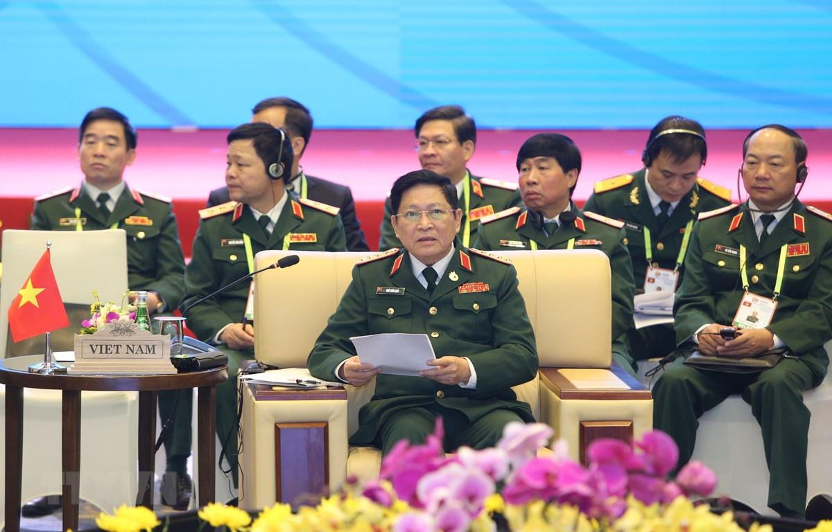ADMM hẹp: Thông qua Tuyên bố chung của Bộ trưởng Quốc phòng các nước ASEAN về hợp tác ứng phó dịch bệnh
