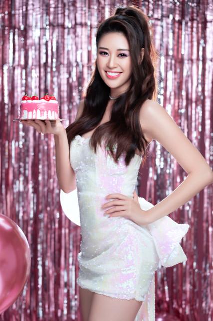 Hoa hậu Khánh Vân hút hồn ở tuổi 25