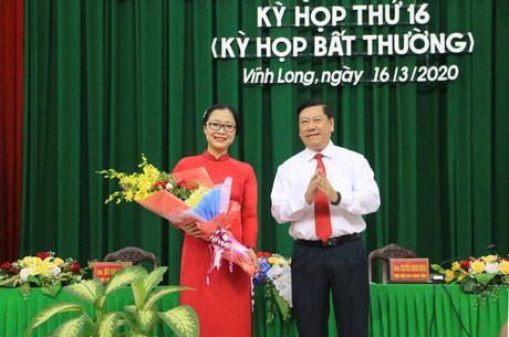 Giám đốc Sở GD&ĐT Vĩnh Long được bầu giữ chức Phó Chủ tịch UBND tỉnh