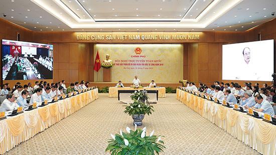 Sẽ tổ chức Hội nghị trực tuyến toàn quốc đẩy mạnh giải ngân vốn đầu tư công