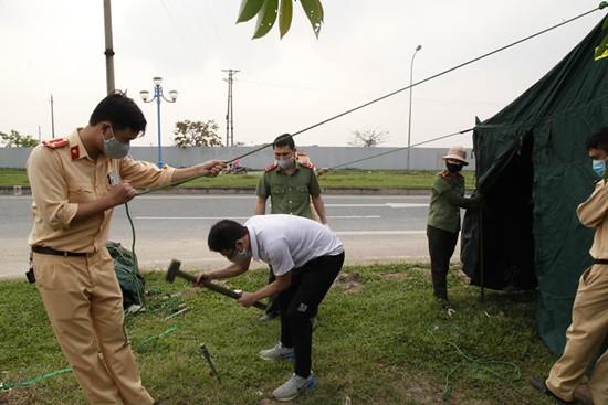 Vĩnh Phúc: Thành lập 9 chốt kiểm soát phòng, chống lây lan Covid-19