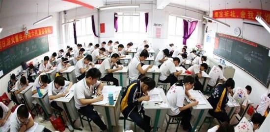 Kỳ thi tuyển sinh ĐH ở Trung Quốc hoãn lại một tháng