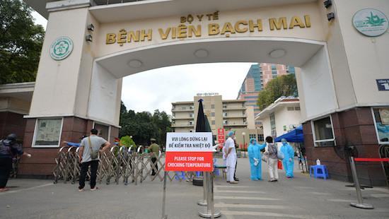 Bệnh viện Bạch Mai thông báo dừng tiếp nhận viện trợ
