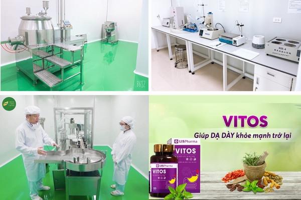 """VITOS hỗ trợ """"đánh bại"""" các bệnh dạ dày hiệu quả cao gấp nhiều lần nhờ kết hợp đông dược với dây chuyền sản xuất hiện đại"""